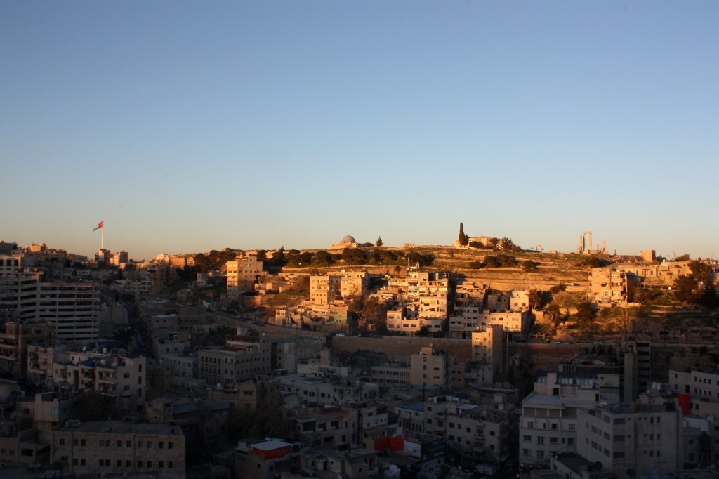 You can see the Amman Citadel at the top