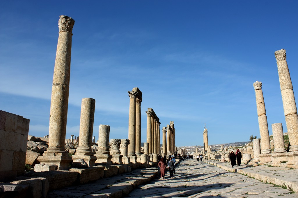 This was the main street of the ancient city